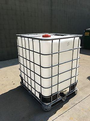 330 Gallon Schutz Ibc Tote Water Liquid Storage Wvo Fuel Oil