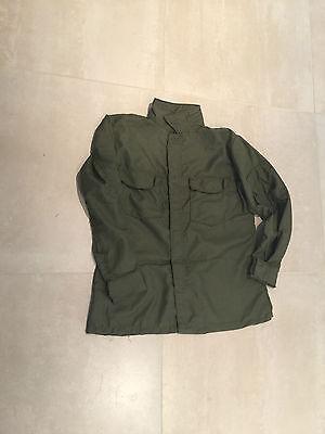 Camicia uniforme Vietnam 1971 in nomex tasche frontali a zip