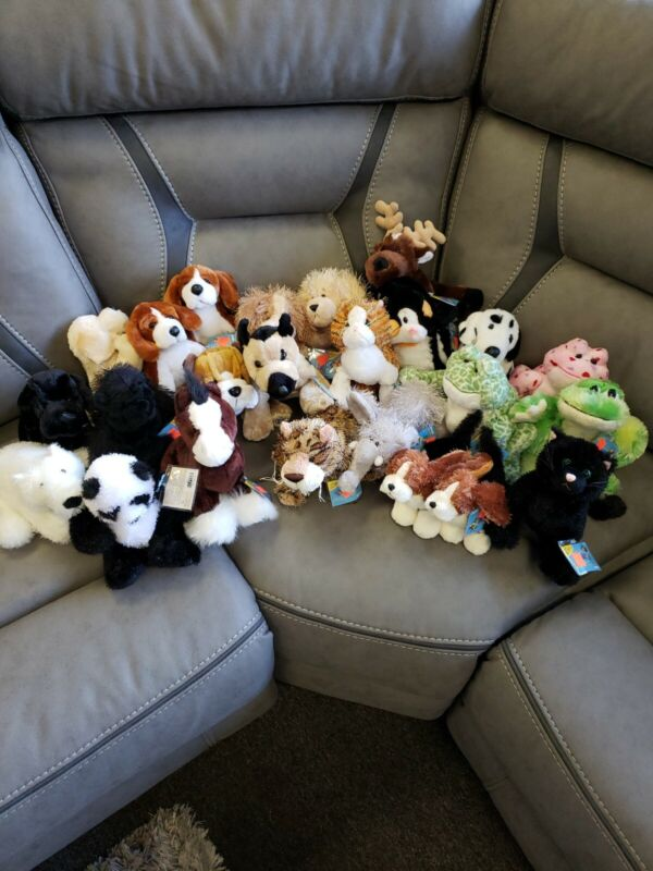 WEBKINZ LOT - 2 RANDOM PLUSH WITH EVERY PURCHASE (NEW WITH CODES) SEALED!!