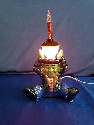 Pumpkin Hollow Glazed Ceramic Bubble Light Holder - Frankenstein's Monster, 2002