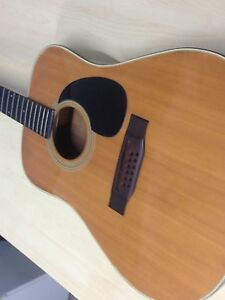 Sigma 12 String Acoustic Guitar Randwick Eastern Suburbs Preview
