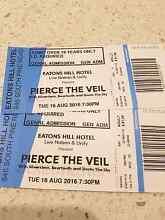 2 Pierce the veil brisbane general admission Raceview Ipswich City Preview