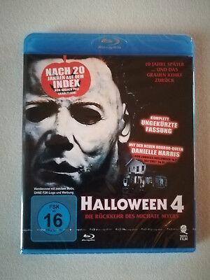 John Carpenters Halloween 4, Blu-ray, Neu und Original verpackt!! Uncut !!