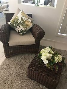 chair with ottoman Padstow Heights Bankstown Area Preview