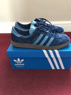 Adidas Hochelaga Spzl UK 9 collegiate navy London Dublin Tobacco