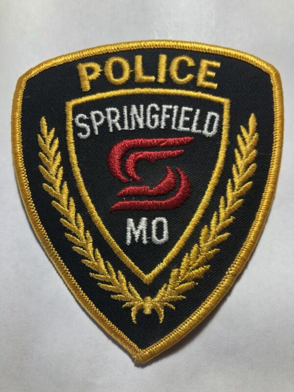 Springfield Missouri Police Patch ~ New Condition