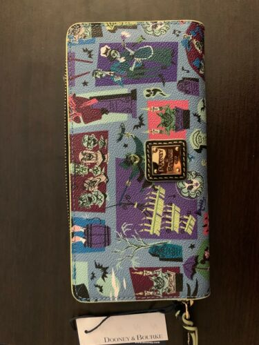 """Dooney & Bourke Disney """"Haunted Mansion"""" wallet New With Tags"""