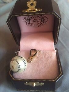 Watch and juicy couture bag charm/key chain
