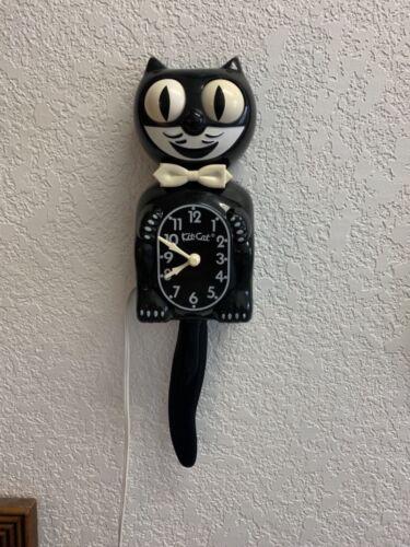 RESTORED vintage electric kit cat klock kat clock felix