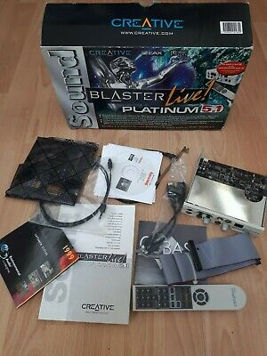 Sound Blaster Live! Platinum 5.1 (Creative Labs) (Boxed)