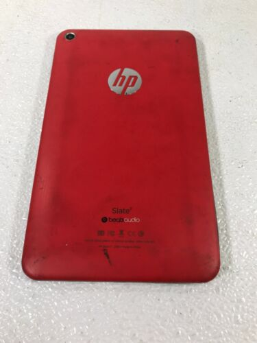 HP SLATE 7 TABLET BEATS AUDIO RED