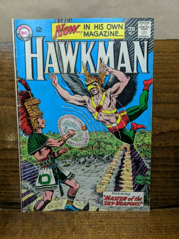 HAWKMAN 1 (DC, May 1964) Fox Anderson Hawkgirl 1st issue in own title