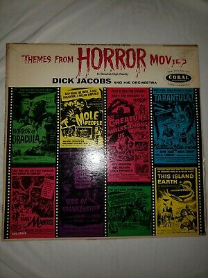 Theme From Halloween Movie (Dick Jacobs Themes From Horror Movies LP 1959 Coral Vinyl Stereo Halloween)