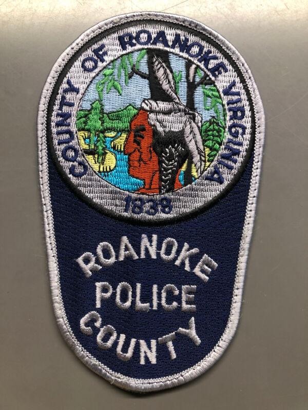 Roanoke County Virginia Police Patch