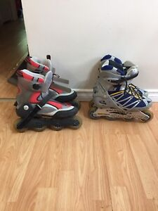 Men's and women's roller blades for sale.