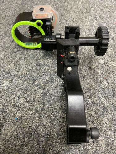Black Gold Ascent Mountain Lite 5 Pin (.019) RH Bow Sight Black Model# AML5