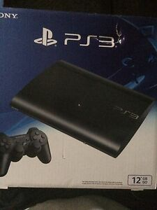PS3 STILL IN BOX. GREAT CONDITION. 4 games
