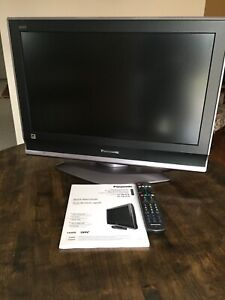 "T.V.  Panasonic 32"" with a 26"" screen"