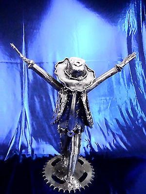 King of Pop auf Bühne Michael Jackson Metall Figur Geschenk Sammeln Dekoration