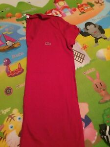 Lacoste rouge rose ! Taille 32 neuf !!! 20$ !!!!!