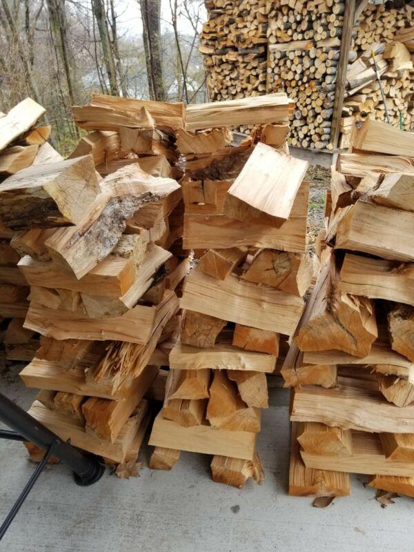 seaoned firewood 1/2 cord all hardwood oak maple beech birch pecan walnut