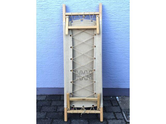 Vintage 30s German Bauhaus Kids Folding Bench/Daybed Bed Eames Era Safari Chair