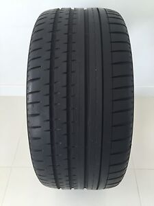 One 265/35/ZR19 AllSeason Continental SportContact 2 -Nearly New
