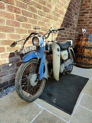 Two vintage Suzuki motorcycles needing restoration genuine barn find