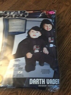 Star Wars Darth Vader costume for 1 to 2 years old. - 1 Year Old Costume