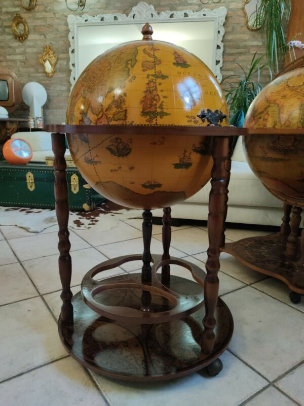 Globe BAR Vintage Antique House Furnishing
