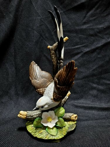 1986 HOME INTERIORS HOMCO MASTERPIECE PORCELAIN SCISSORTAIL FLYCATCHER