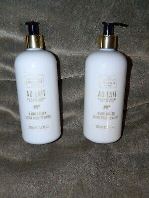 (Milk and Honey Hand Lotion Au Lait SCOTTISH FINE SOAPS 500ml • 17.5oz x 2)