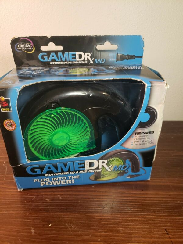 Used Digital Innovations Game Dr. MD Motorized CD DVD Repair - No Disc Holder