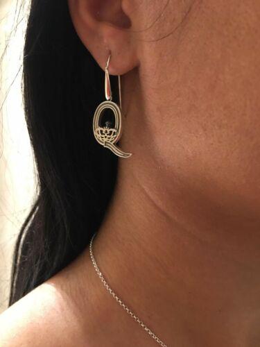 Queen handmade earrings sterling silver 925 Freddie Mercury