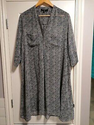 Ilse Jacobsen kaftan, long blouse, dress, laganlook size 18