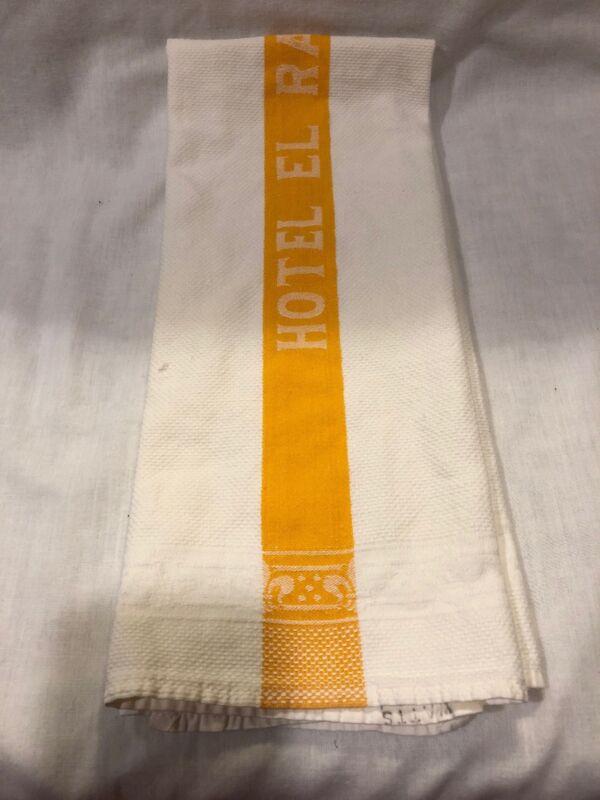 Vintage Vegas Casino Hotel El Rancho Hand Size Towel