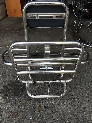vespa px T5 Cuppini 4 in 1 back rack/ rest