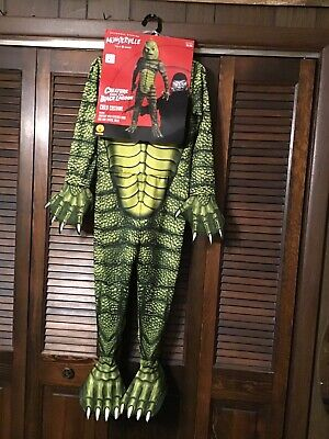 Creature from the Black Lagoon Small size Costume w Mask Universal Monsters NEW](The Creature From The Black Lagoon Costume)