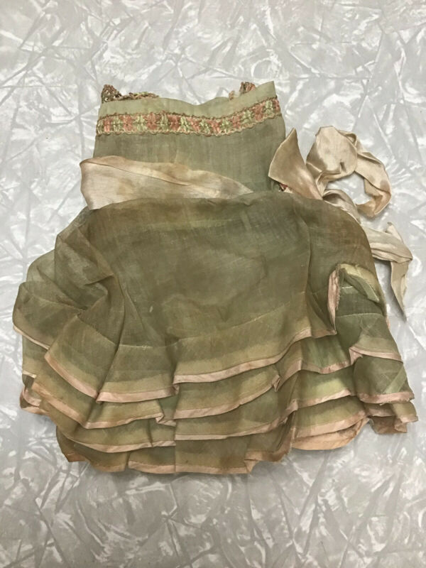 Vintage Baby Doll Dress Ideal Vogue Bisque Effanbee French German Antique