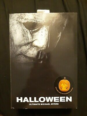 Neca Halloween 7 Inch Michael Myers Deluxe Action Figure Lighted Pumpkin