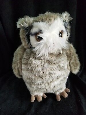 "Universal Studios Wizarding World of Harry Potter Owl Pigwidgeon 9"" Rotate head"