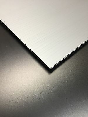 10 Pcs 4mm Grey 24 In X 12 In Corrugated Plastic Coroplast Sheets Sign