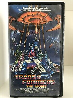 Transformers: The Movie (VHS, 1999) Rhino Entertainment Company, Sunbow & Marvel