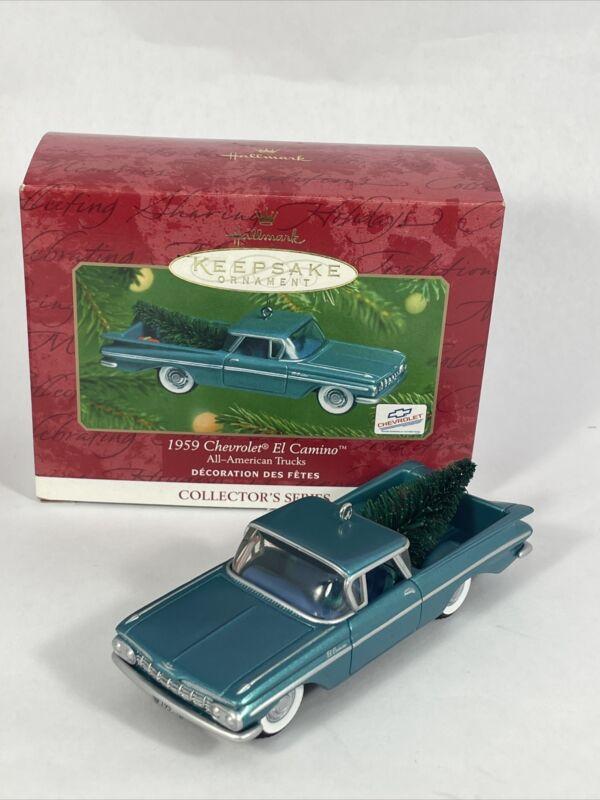 HALLMARK Keepsake Ornament 1959 Chevrolet El Camino