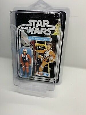 Vintage Star Wars Luke Skywalker (X-wing Pilot) Figure Palitoy Hasbro Moc