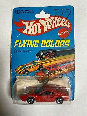 1975 HOT WHEELS MATTEL FLYING COLORS RACE BAIT #308 MOC