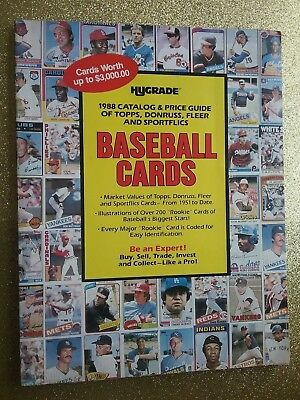 HYGRADE 1988 BASEBALL CARDS CATALOG - COPYRIGHT 1987 (RARE/VTG/HTF)