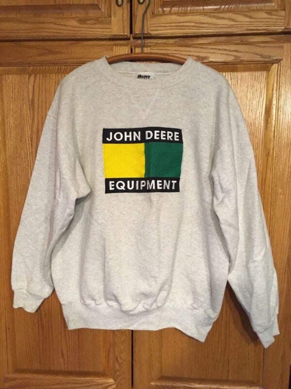 Vintage John Deere Sweatshirt XL Made In The USA