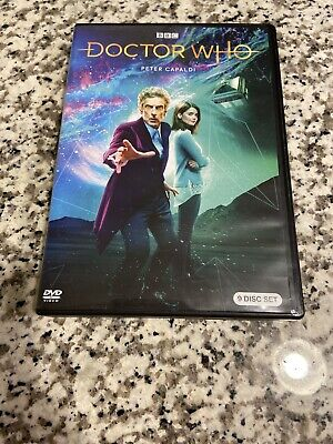 Doctor Who: Peter Capaldi Collection DVD 9 Disc Boxed Set Complete Season
