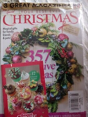My weekly best ever xmas issue 95 ..357 festive ideas 12 fabulous cupcake (Best Christmas Ideas Ever)
